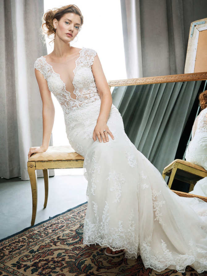 tea length wedding dresses for your spring nuptials