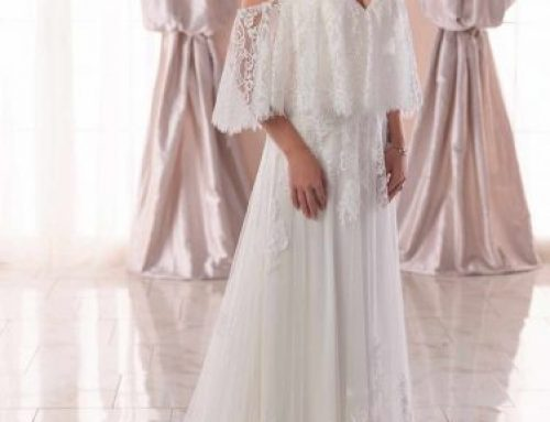 Sexy Shoulders Showcase: Wedding Dresses at NYB&Co. in Syracuse