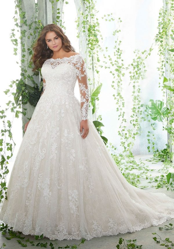 5b029489fb Plus-Size Wedding Dress Bliss at NYB&Co. Syracuse