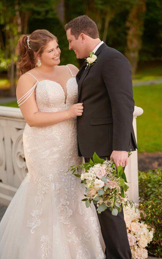 Stella-York plus size wedding dresses