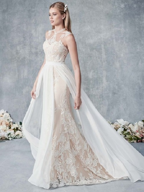 NYBCo-Syracuse-Ella-Rosa-Spring-Collection-sheath-wedding-dress-BE509