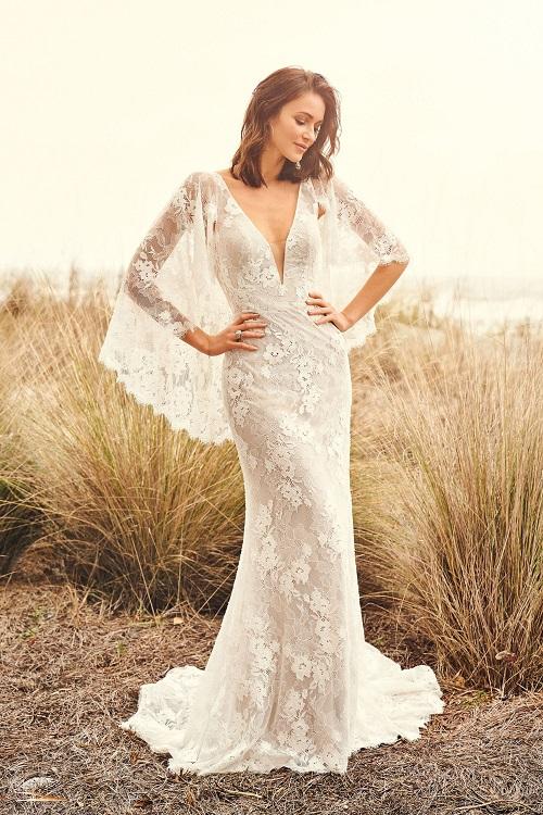 NYBCo-Syracuse-NY-longsleeve-lace-boho-wedding-gown-Lillian-West-66112