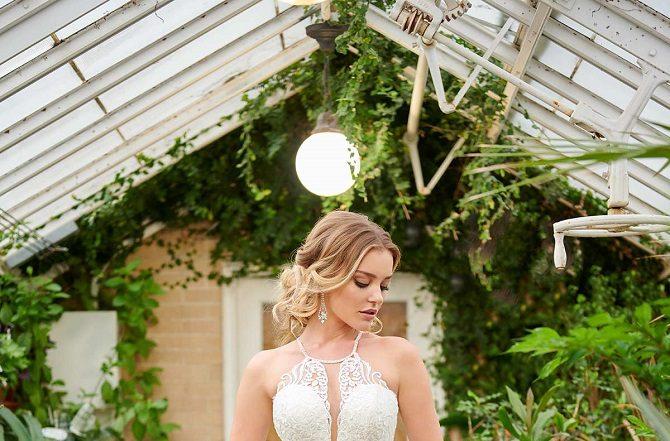 New-York-Bride-Syracuse-halter-wedding-dress-style-6999